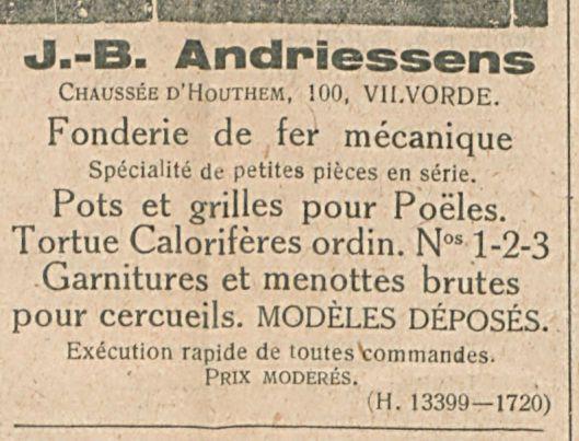 J B Andriessens