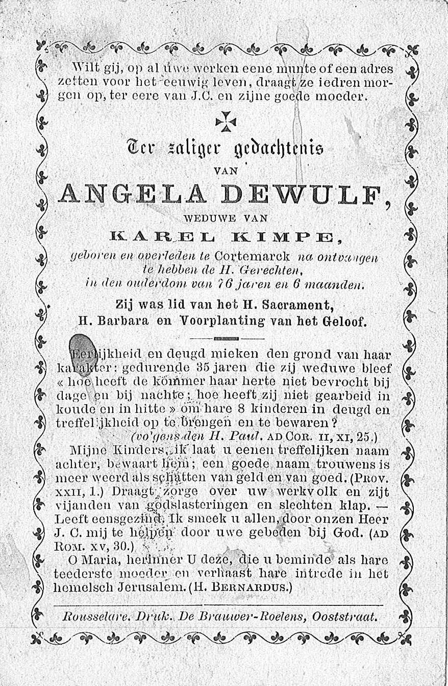 Angela Dewulf