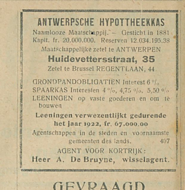 ANTWERPSCHE HYPOTTHEEKKAS