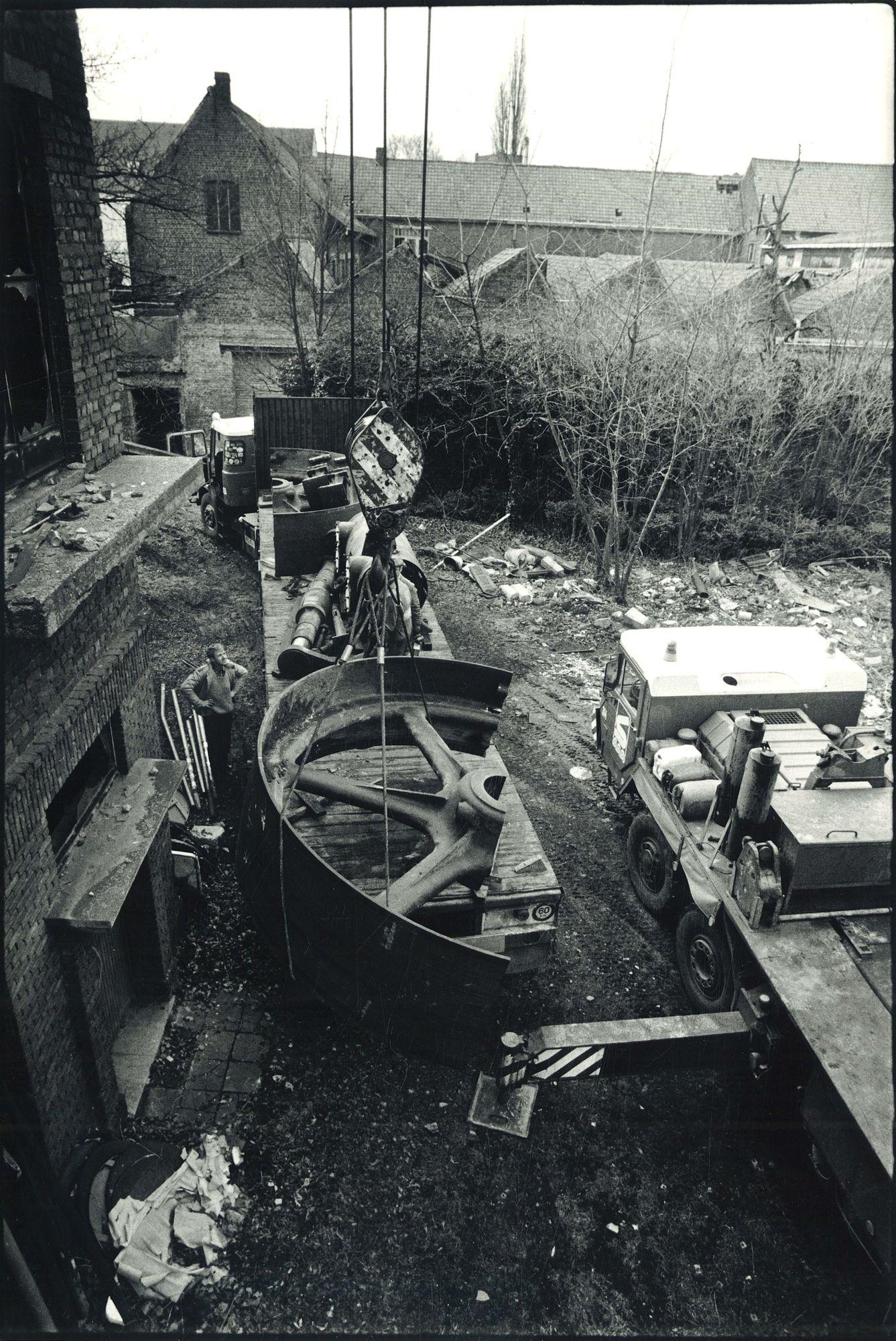 """Pannenfabriek """"Sterreberg"""" te Aalbeke 1987"""