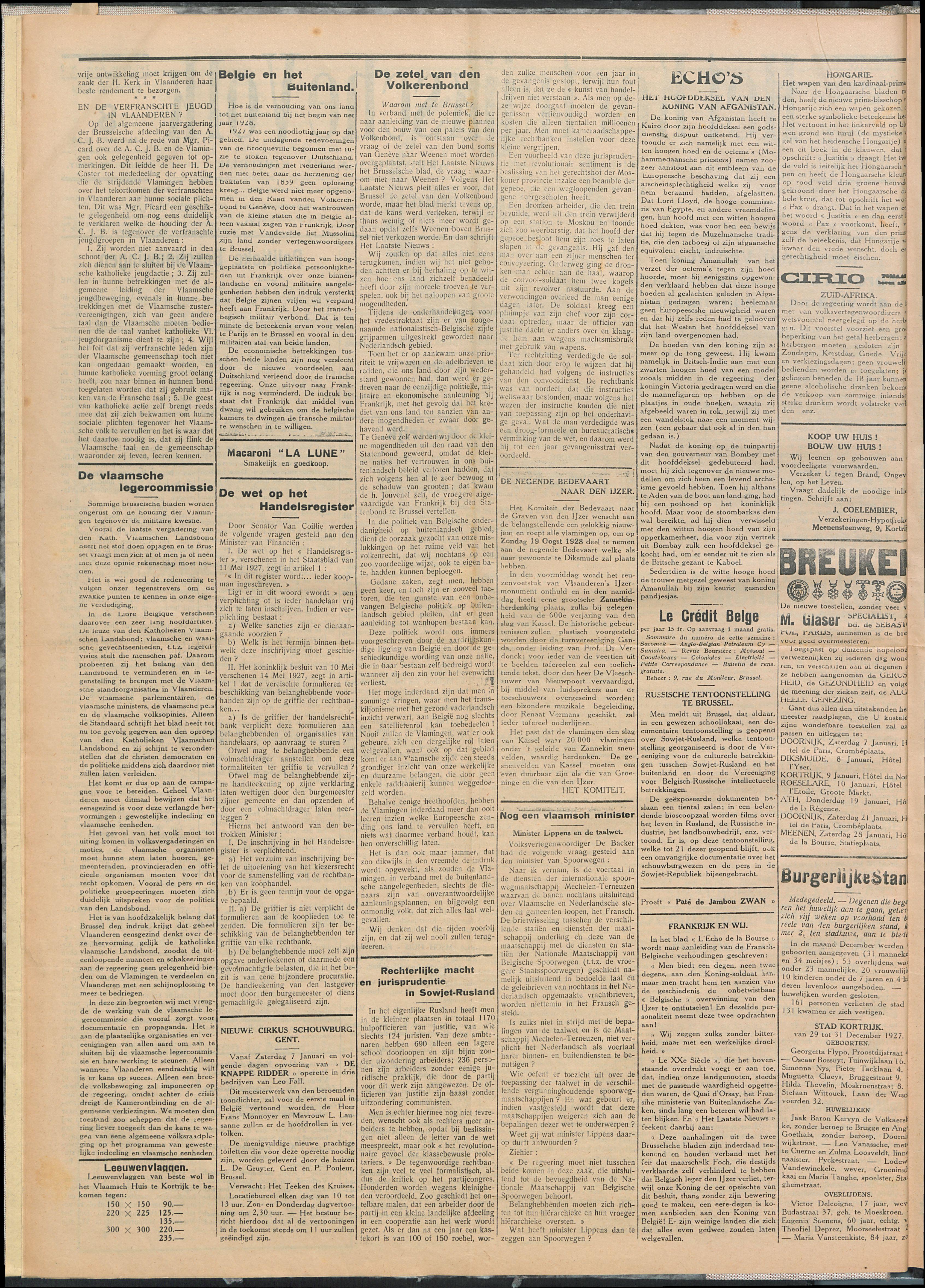 Het Kortrijksche Volk 1928-01-08 p2