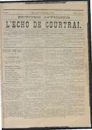 L'echo De Courtrai 1875-10-24