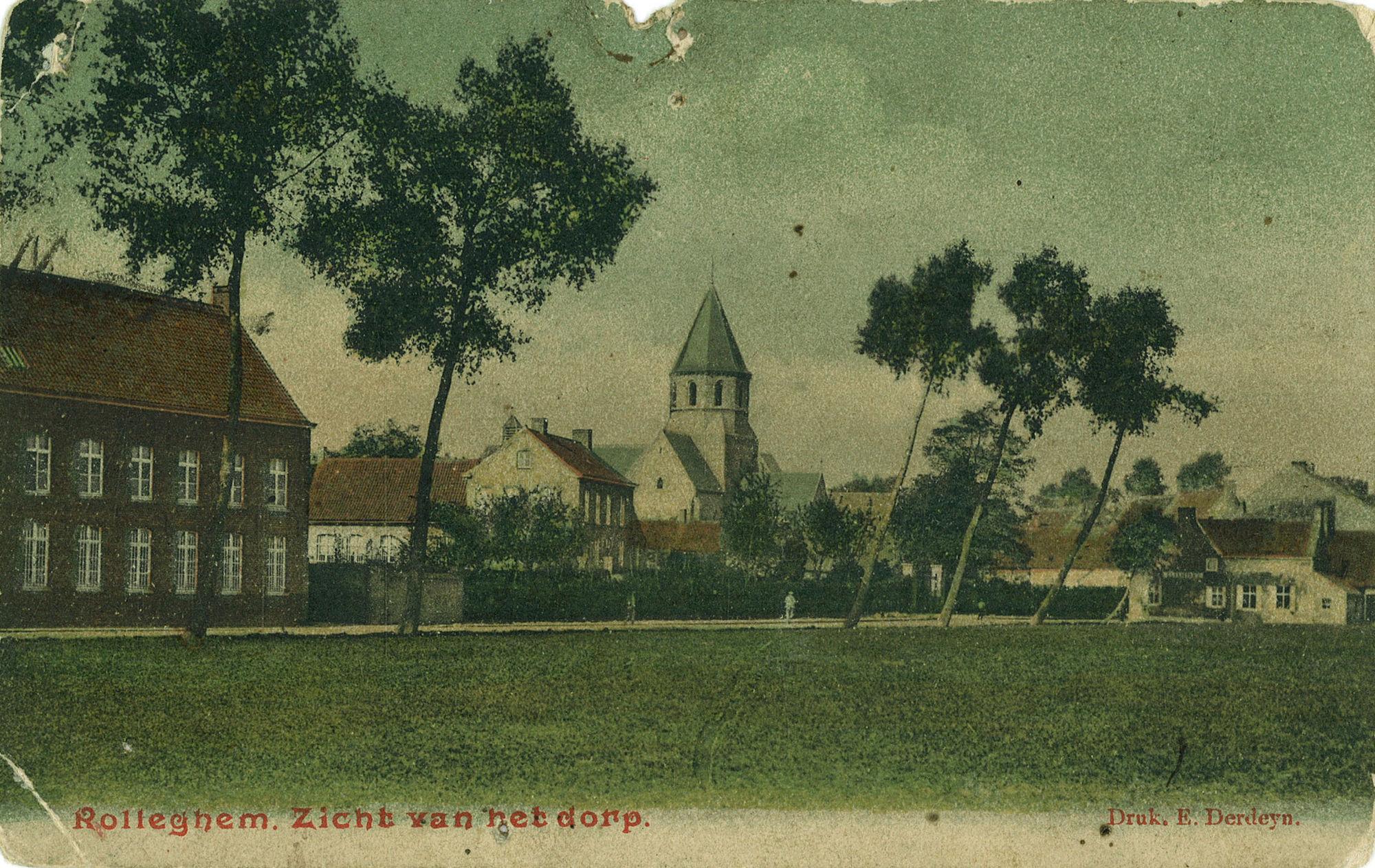 Sint-Antonius abt kerk in Rollegem