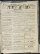 Petites Affiches De Courtrai 1841-08-06