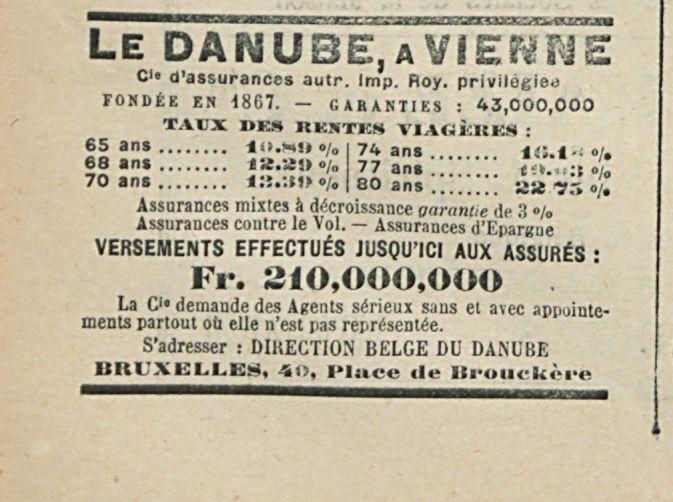 LE DANUBE A VIENINE
