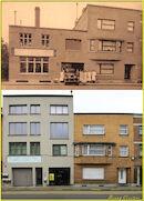 Veldstraat - Wasserij - vroeger en nu