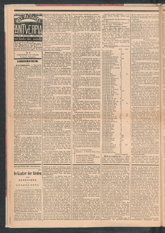 De Stad Kortrijk 1911-11-04 p2