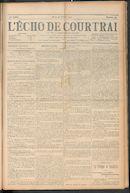 L'echo De Courtrai 1910-10-13
