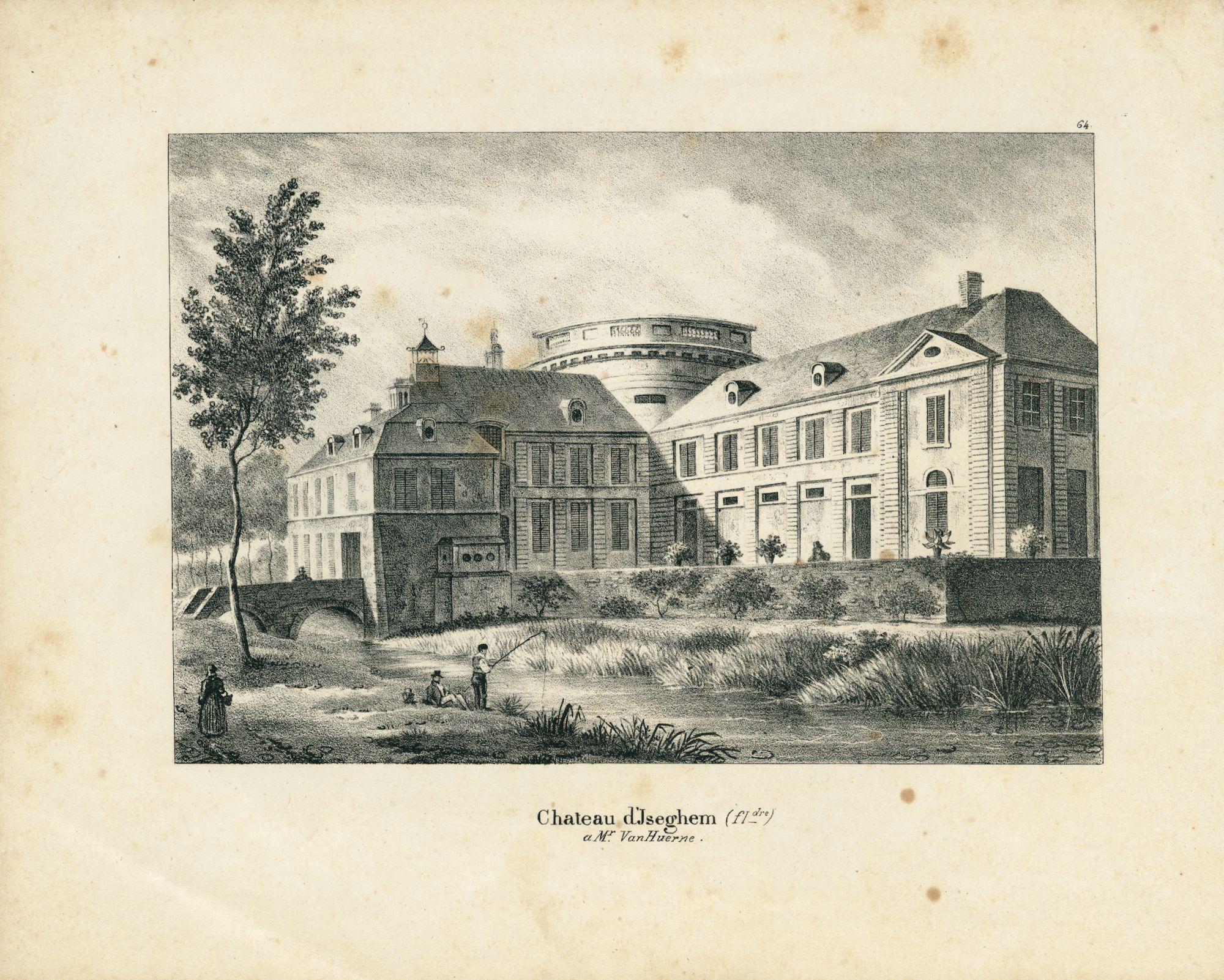 Westflandrica - het kasteel Blauwhuis in Izegem