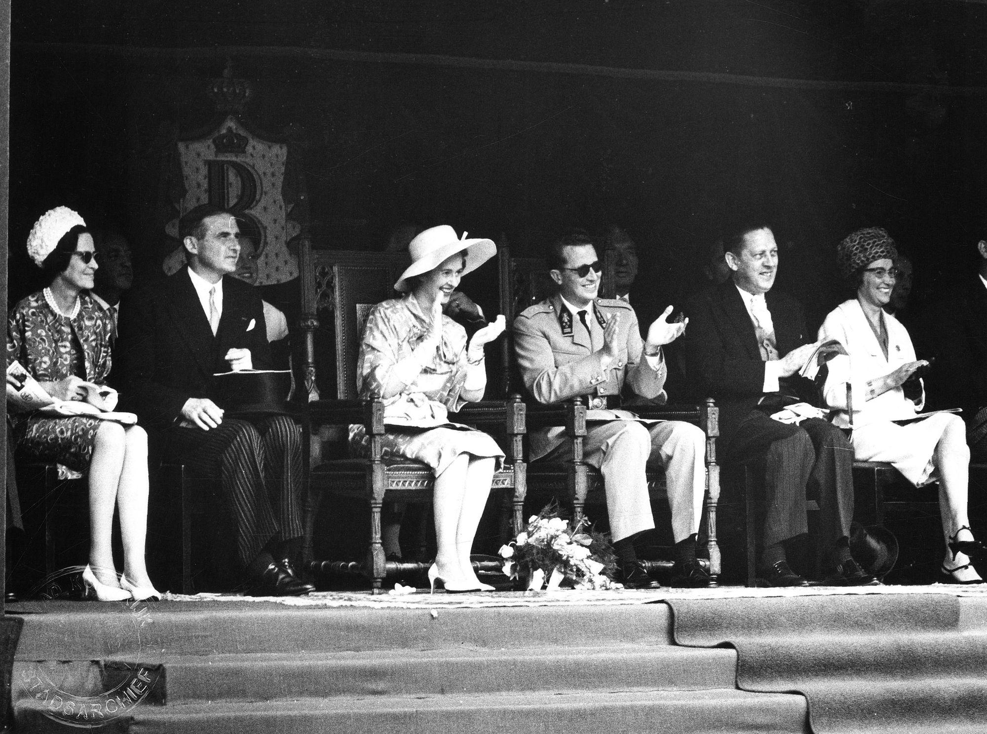 Koninklijke bezoek 1962