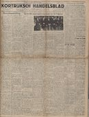 Kortrijksch Handelsblad 5 december 1946 Nr98 p1