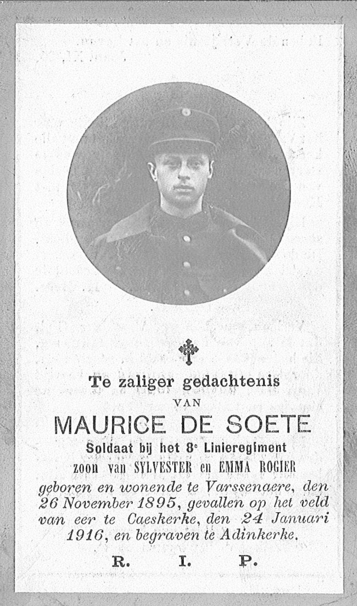 Maurice De Soete
