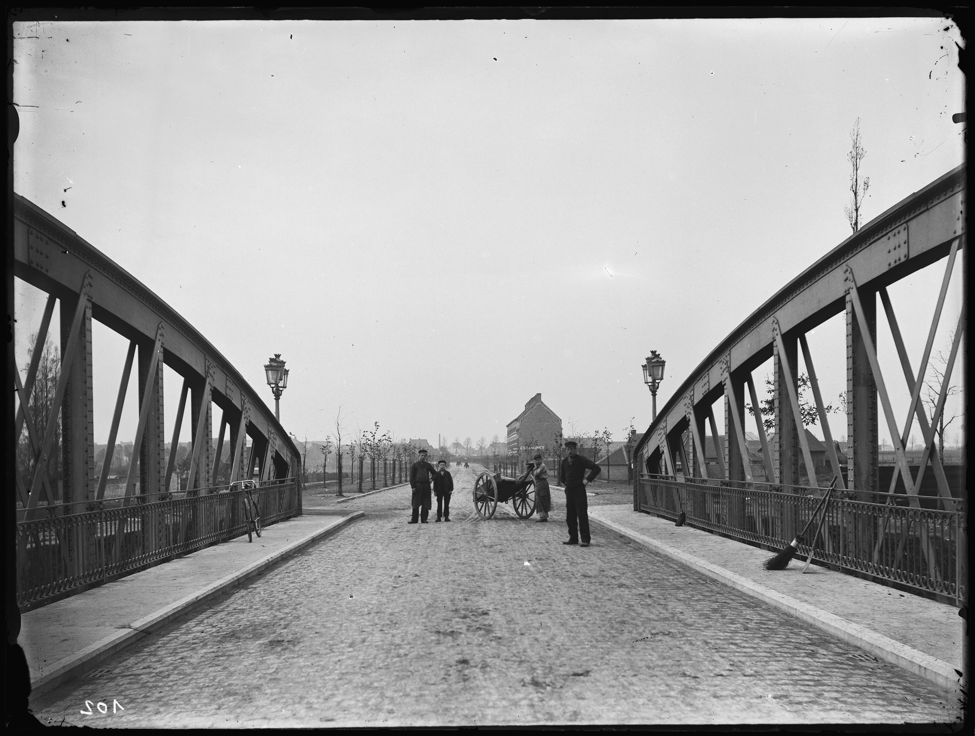 Groeningebrug in 1892