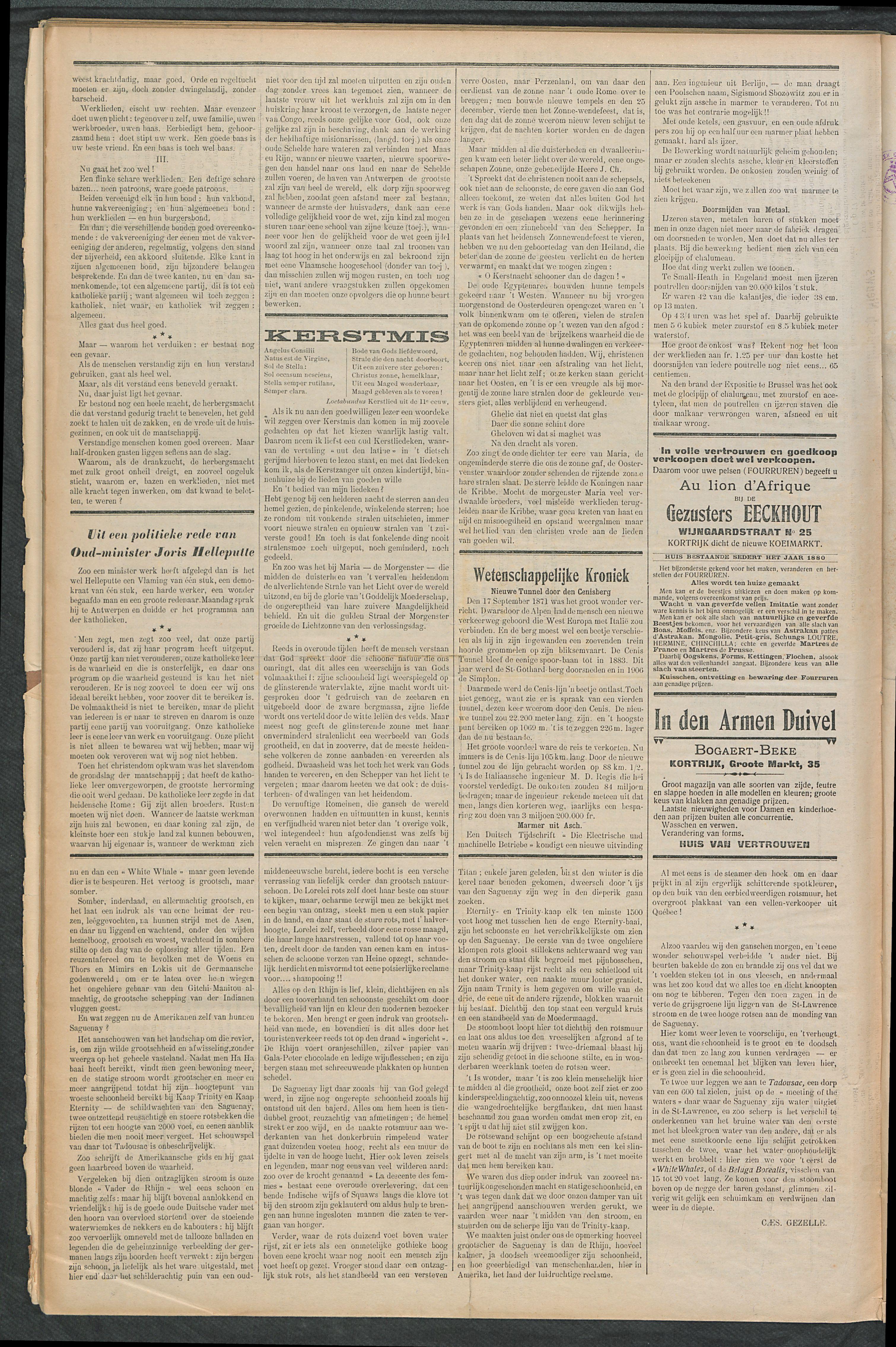 Het Kortrijksche Volk 1911-12-24 p6