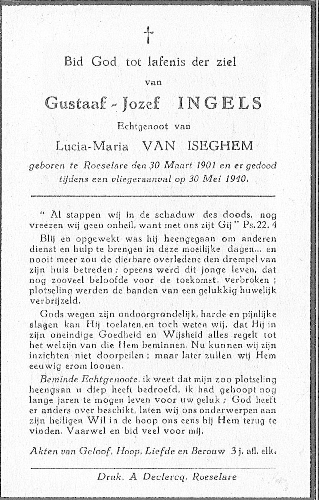 Gustaaf-Jozef Ingels