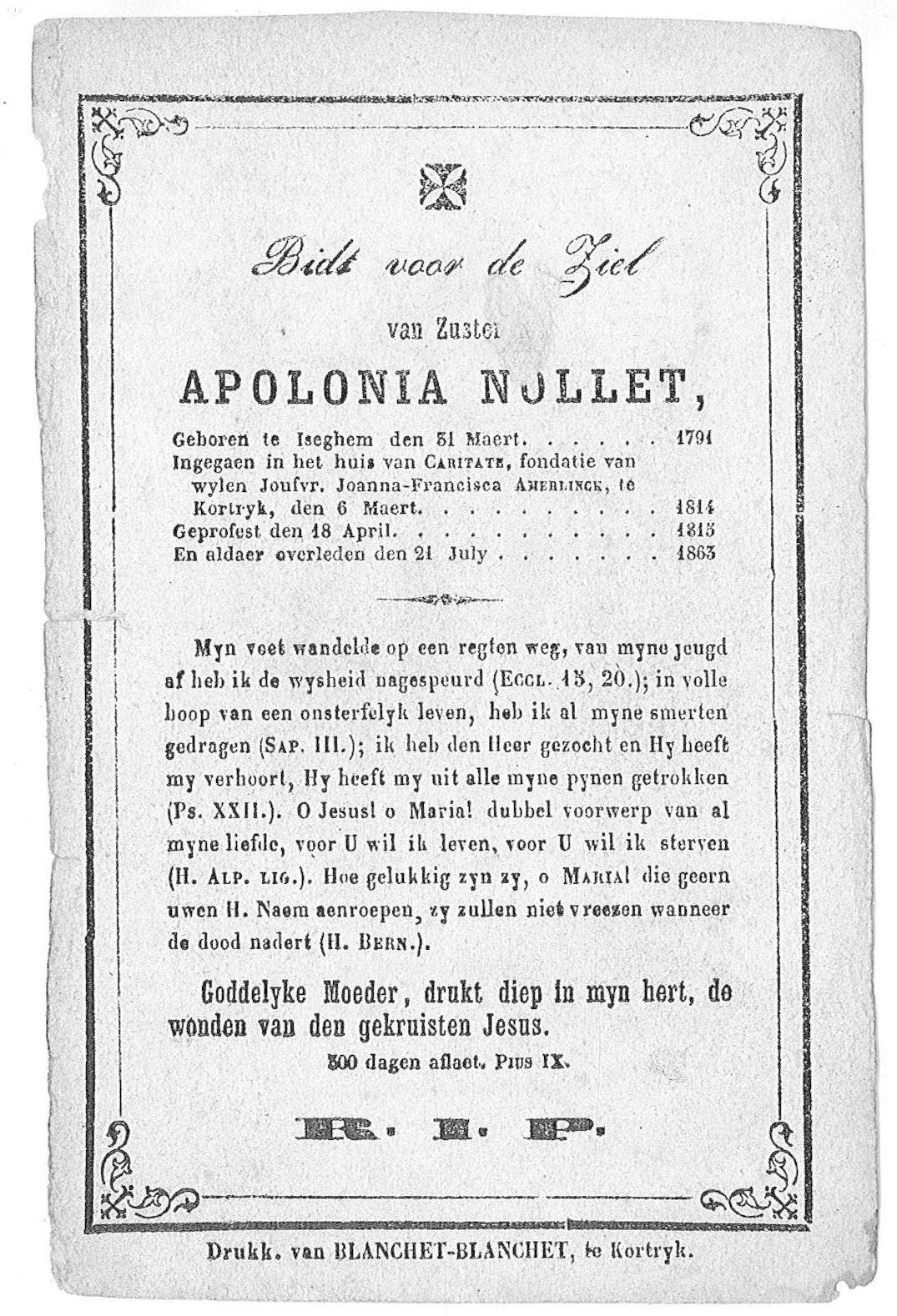 Apolonia Nollet