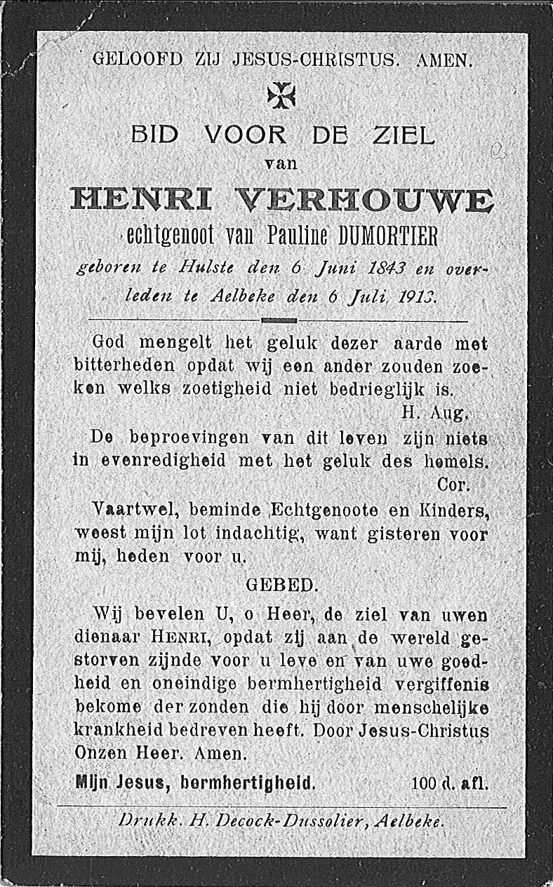 Henri Verhouwe