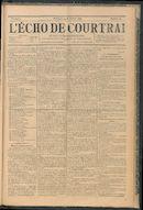 L'echo De Courtrai 1896-11-15
