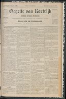 Gazette Van Kortrijk 1888-10-28 p1