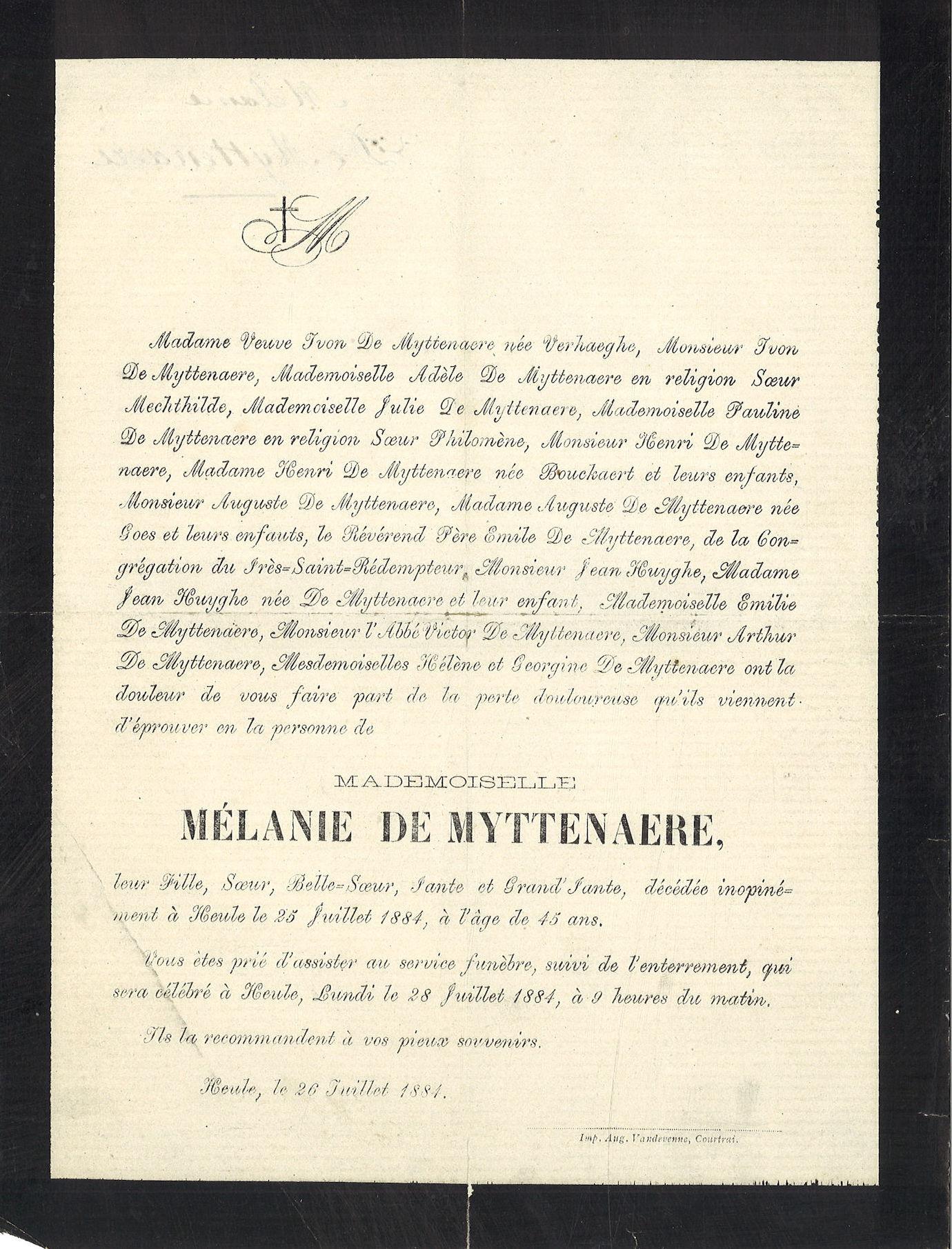 Mélanie De Myttenaere