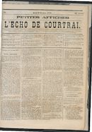 L'echo De Courtrai 1873-10-09