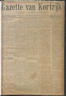 Gazette van Kortrijk 1916-01-16 p1