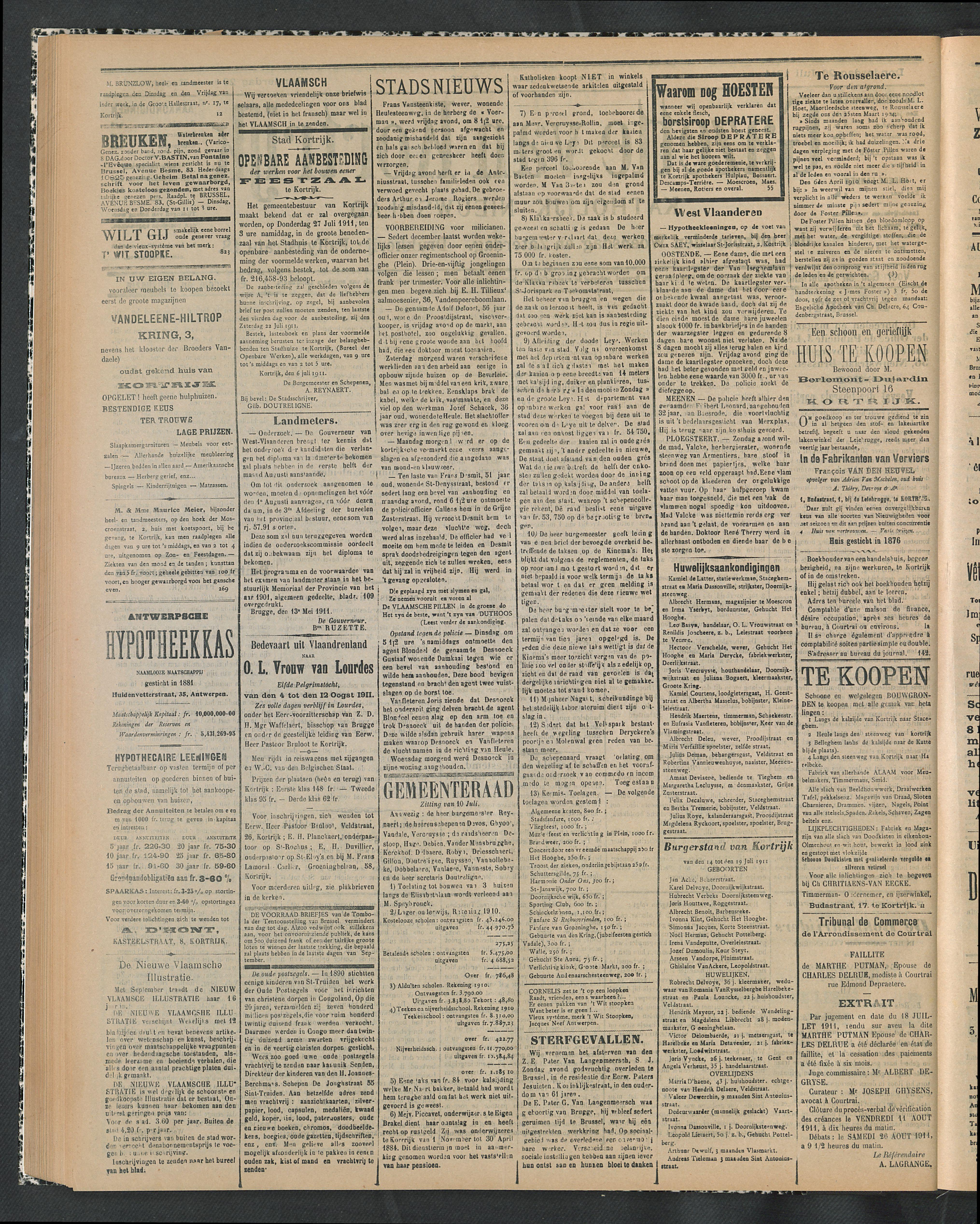 Gazette Van Kortrijk 1911-07-20 p2