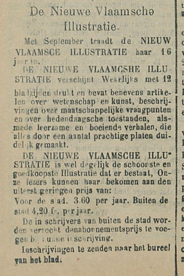 De Nieuwe Vlaamsche Illustratie