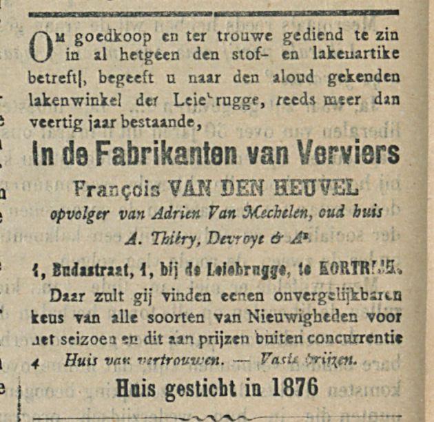 In de Fabrikanten van Verviers