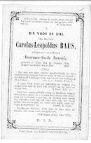 Carolus- Leopoldus Baus