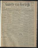 Gazette Van Kortrijk 1910-01-02