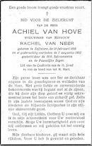 Achiel Van Hove