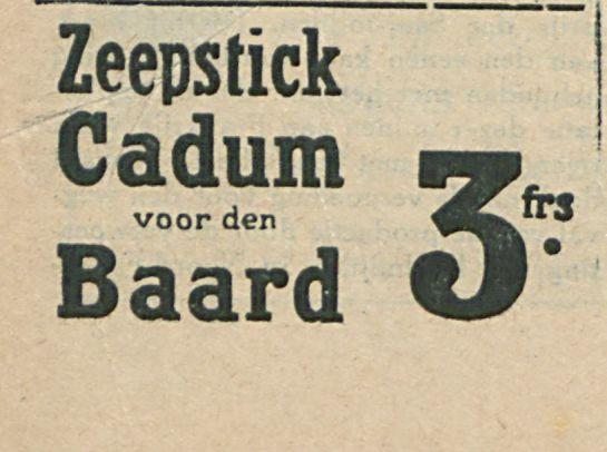 Zeepstick Cadum
