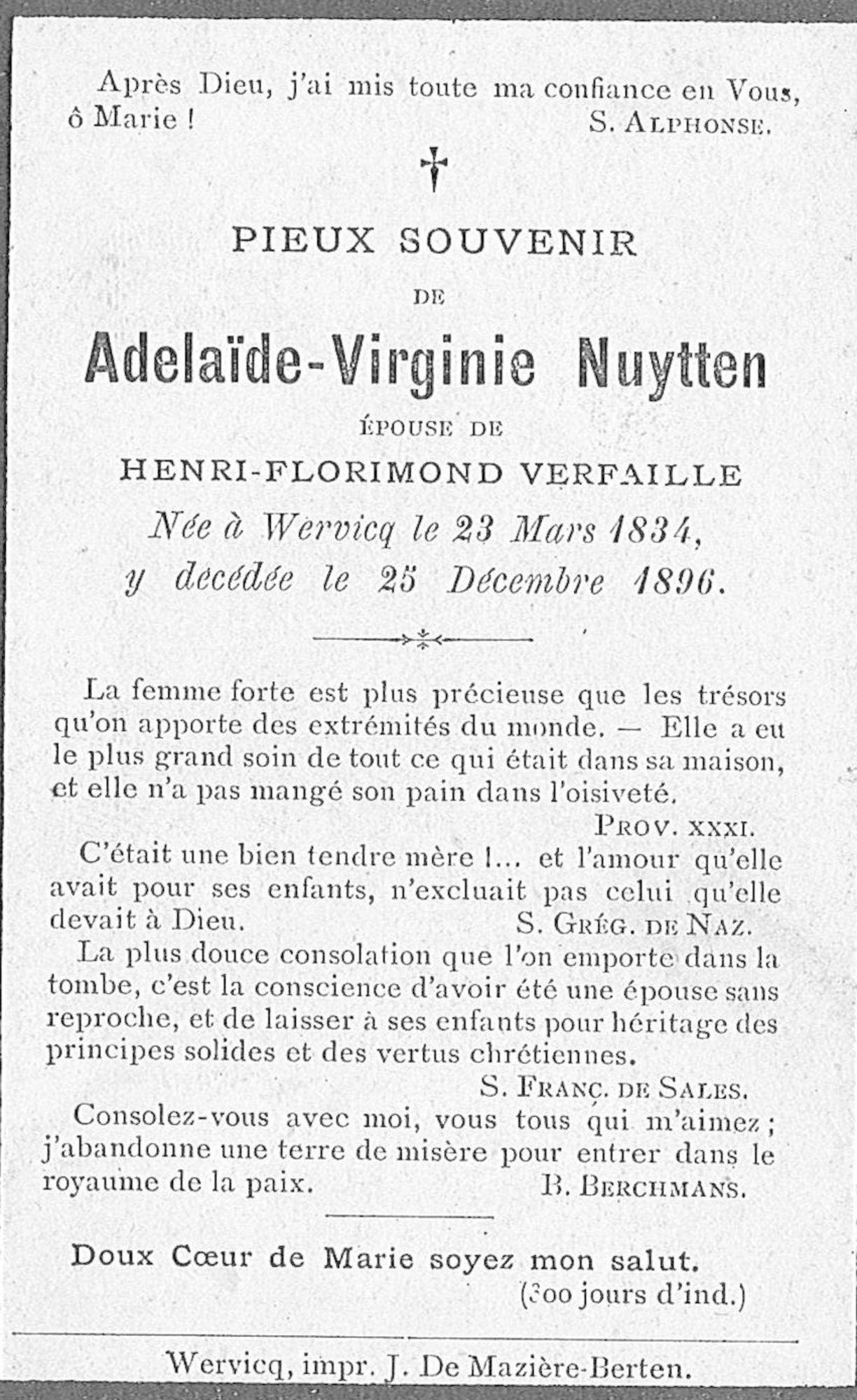 Adelaide-Virginie Nuytten