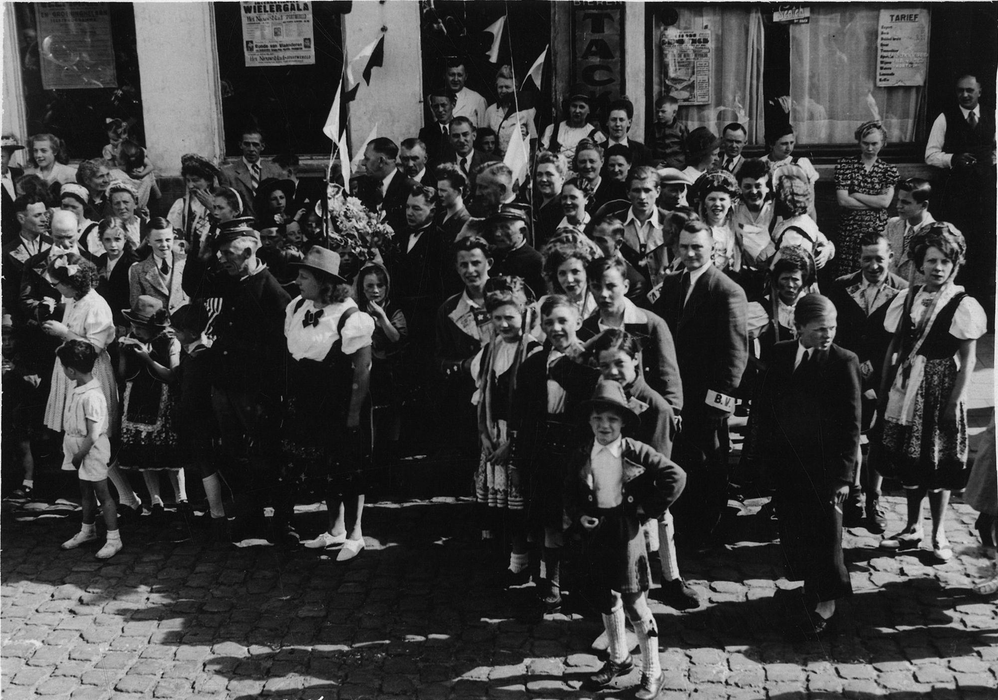 Wijkkermis Veemarkt 1946