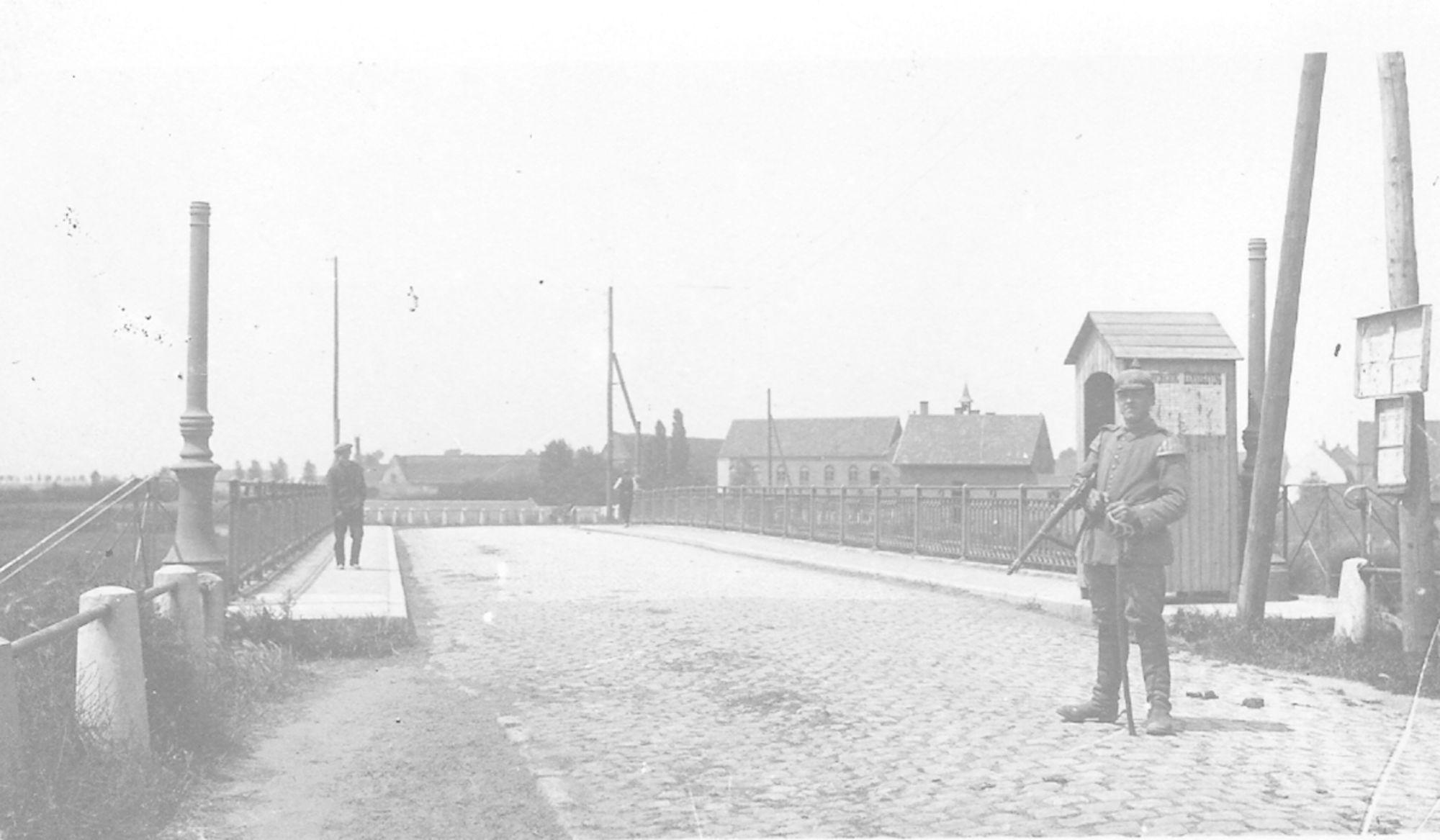 Brug Marke-Bissegem eerste Wereldoorlog I
