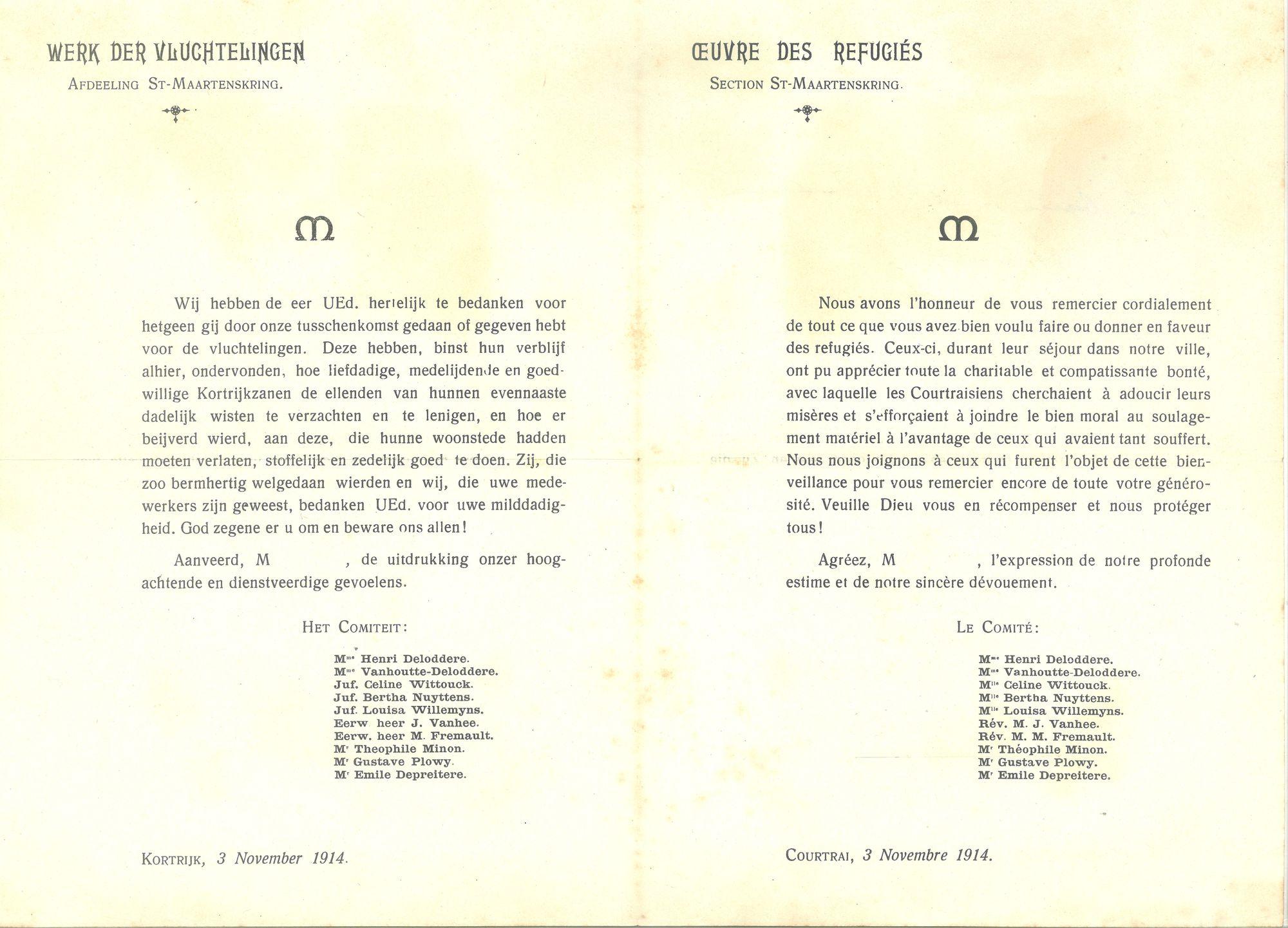 Sint-Maartenskring 1914