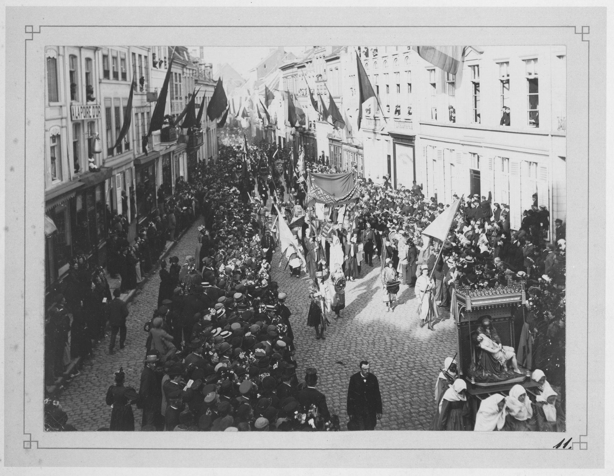 Heilig Haarprocessie 1897