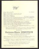Hortense-Marie Demuynck