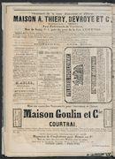 L'echo De Courtrai 1873-11-23 p6