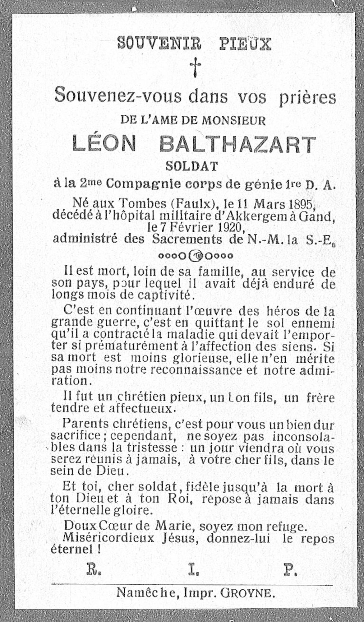 Balthazart Léon