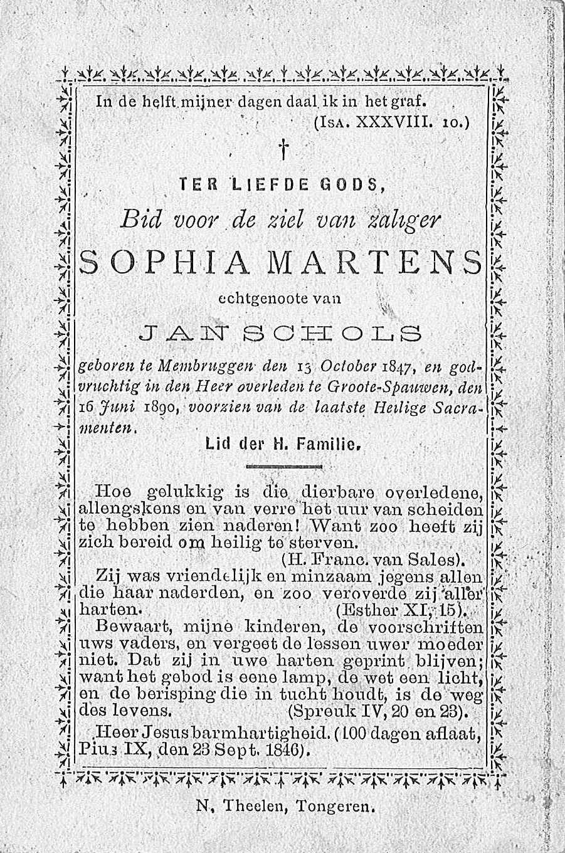 Sophia Martens