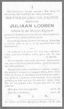 Loosen Juliaan