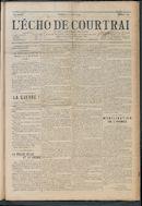 L'echo De Courtrai 1914-08-02