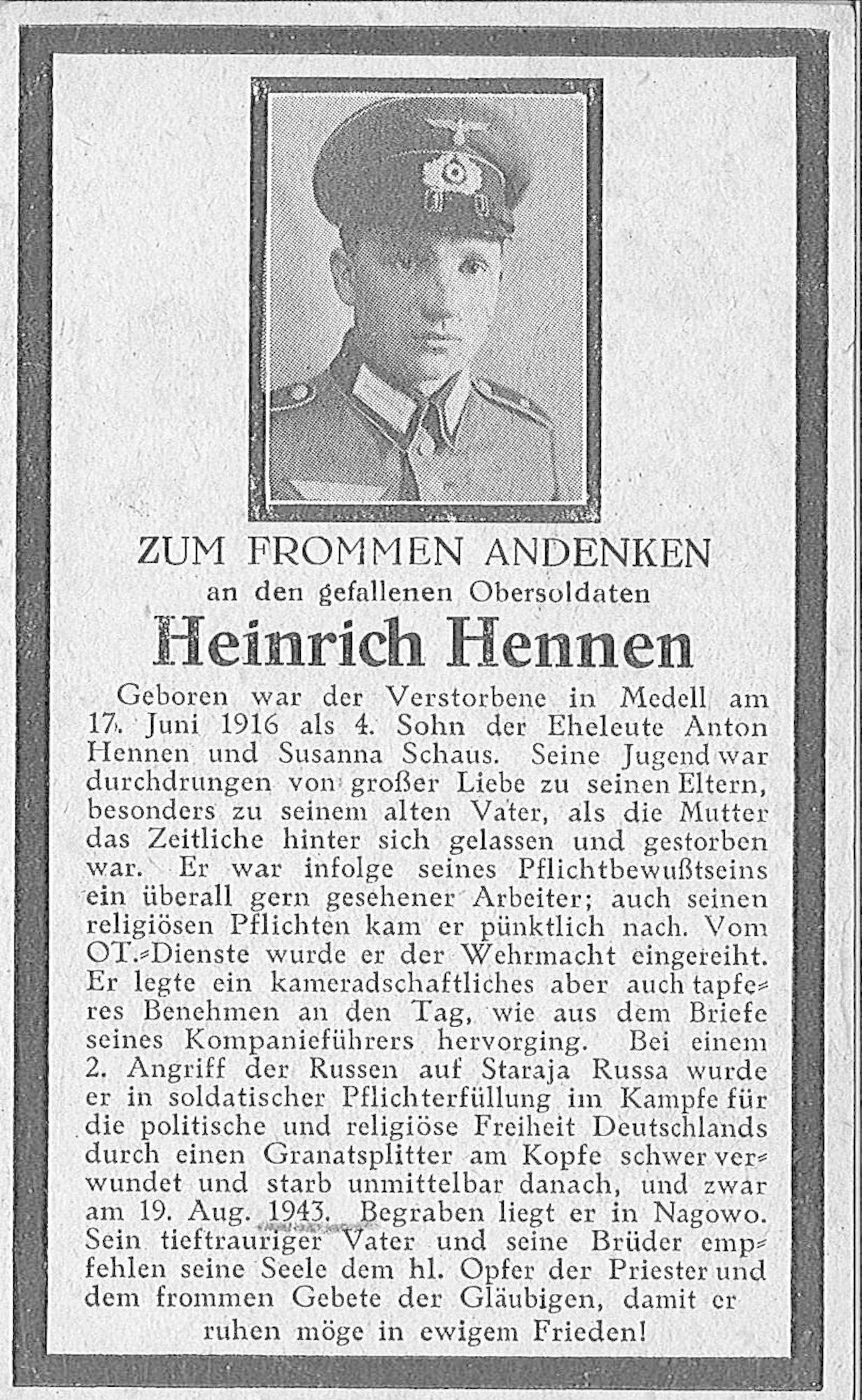 Heinrich Hennen