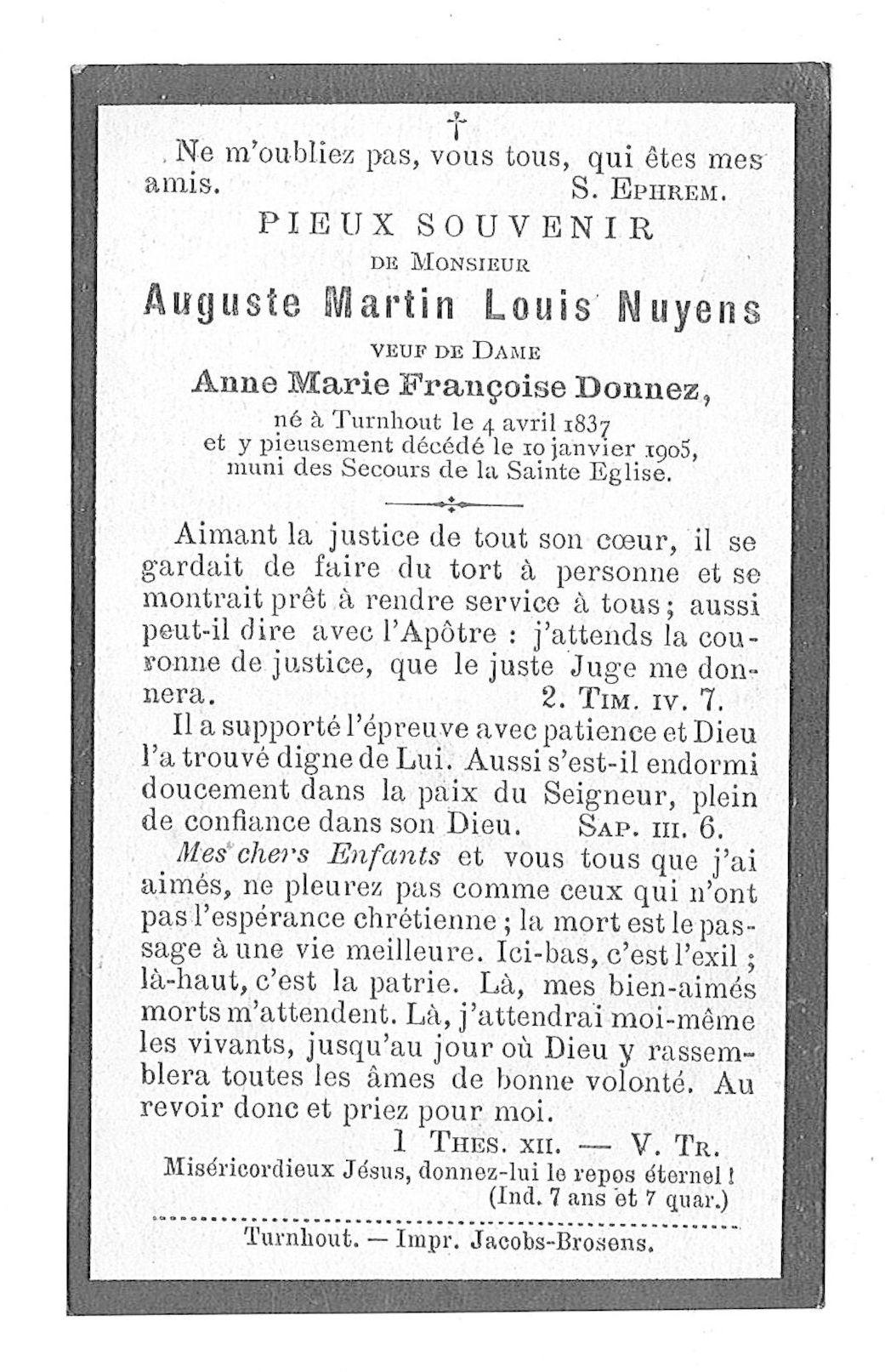 Auguste-Martin-Louis Nuyens
