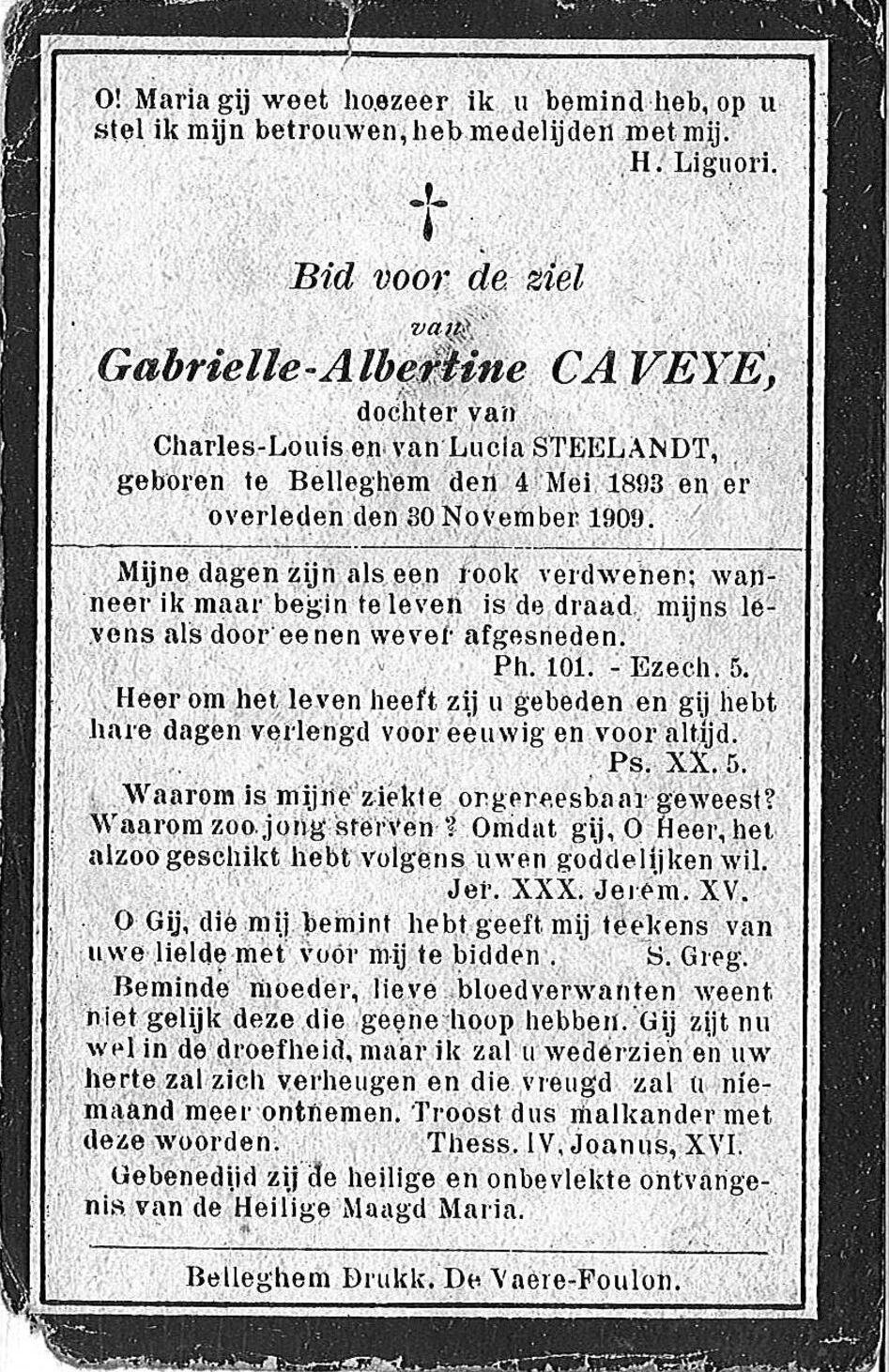 Caveye Gabrielle-Albertine