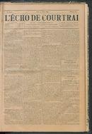 L'echo De Courtrai 1895-08-29