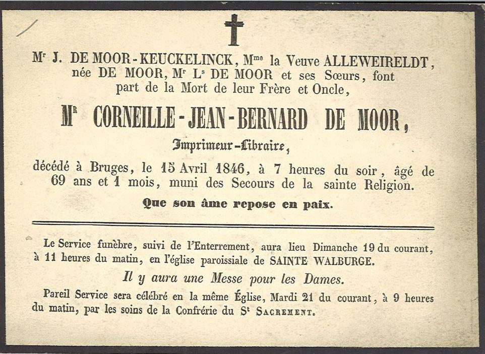 Corneille-Jean-Bernard De Moor