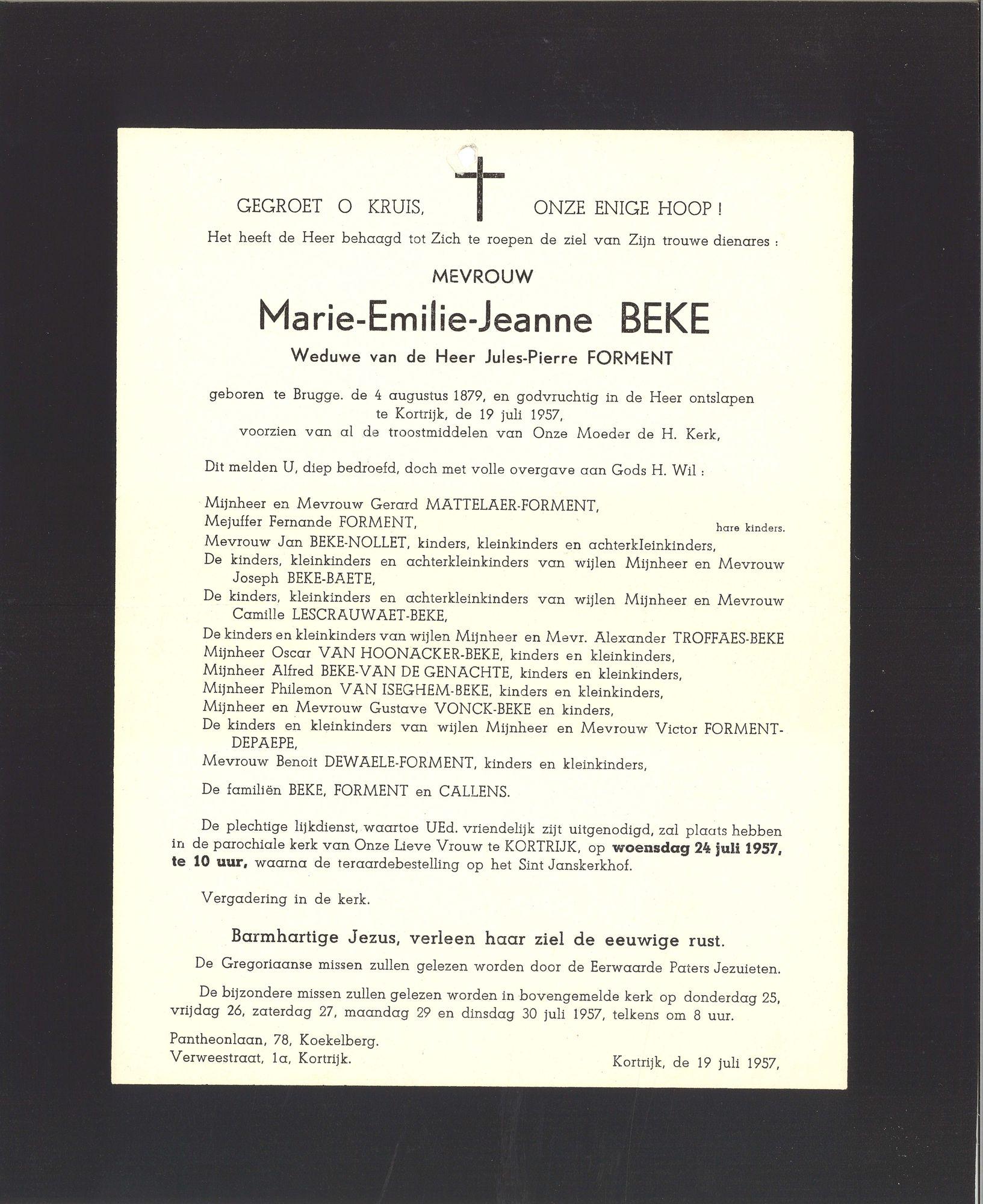 Marie-Emilie-Jeanne Beke